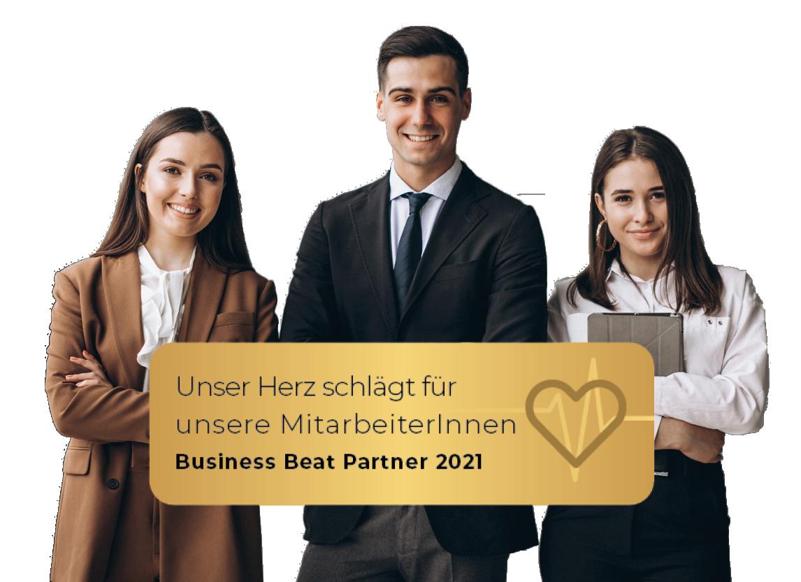 Business Beat Siegel